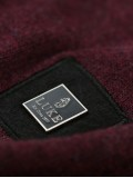 "Luke 1977 ""Stevie Fine Knit Jumper In Dark Wine - M450602"