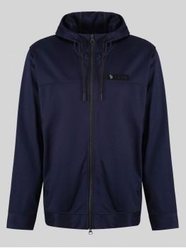 Luke Sport Keegan Zip-Up Jacket -  Vintage style track jacket with baseball neck In Black
