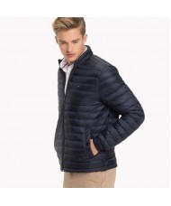 Tommy Hilfiger Long Sleeve Padded Jacket In Navy